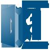 Gabinete (Balcão) de Cozinha Itatiaia Dandara IGH1G1-80 5B Aço c/ 1 Porta e 1 Gaveta p/ Fogão Cooktop 5 Bocas 80cm - ##nomedasessao## com 1 Porta de Abrir