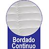 Colchão Ortobom de Molas Pocket Pró Vida/Celebritá Euro Pillow - Com Bordado Contínuo