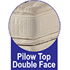 Pillow Top Duoface