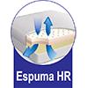 Estofamento Interno em  Espuma HR de Alta Resiliência