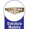 Cama Box Baú Ortobom Courino Nero Black - Estrutura Interna Madeira