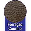 Cama Box Baú Ortobom Courino Nero Black - Acabamento em Couríno