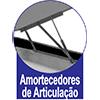 Cama Box Baú Ortobom Courino Nero Black - Amortecedores de Articulação