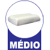 Travesseiro Duoflex Sonomax Nasa Viscoelástico - Médio (até 15 cm)
