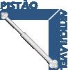 Armário de Cozinha Itatiaia Aéreo Dandara IPH-80 Aço Horizontal c/ 1 Porta 80cm - Pistão Articulável
