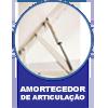 Cama Box Baú Base Ortobom Courino Nero Black  s/ Auxiliar (Obrigatória a compra Cama Box + Auxiliar) - Amortecedores de Articulação
