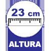 Colchão Auxiliar Ortobom de Espuma D28 Cori Nero Black  (Uso Exclusivo Camas Específicas Ortobom ) - 23 cm Altura