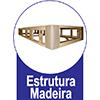 Cama Box Baú Base Ortobom Courino Nero Black  s/ Auxiliar (Obrigatória a compra Cama Box + Auxiliar) - Estrutura Interna Madeira