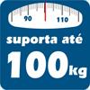 Colchão Auxiliar Ortobom de Espuma D28 Cori Nero Black  (Uso Exclusivo Camas Específicas Ortobom ) - Suporta até 100 kg