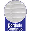 Colchão Auxiliar Ortobom de Espuma D28 Cori Nero Black  (Uso Exclusivo Camas Específicas Ortobom ) - Bordado Contínuo