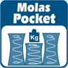 Colchão Luckspuma de Molas Pocket Aspen Bamboo Pilow Top One Side - De Molas Pocket (Ensacadas)