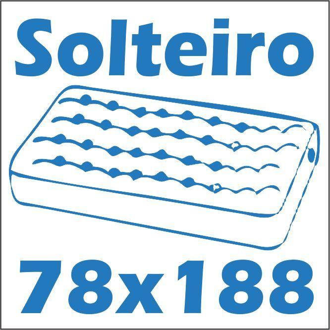 Cama para colchão solteiro 0,78 x 1,88