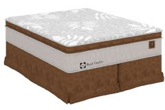 Colchão Sealy de Molas Posturepedic Royal Comfort Plus Pilow Top - Colchão Casal - 1,38x1,88x0,40 - Sem Cama Box
