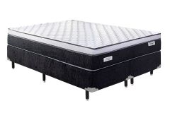 Colchão Sealy de Molas Pocket Concept Dream Black Euro Pillow - Colchão Casal - 1,38x1,88x0,25 - Sem Cama Box