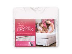 Saia Para Cama Box Fibrasca Lisomax White - Travesseiro Fibrasca