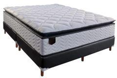 Colchão Paropas de Molas Pocket Excellent Black Euro Pillow - Colchão Solteiro - 0,88x1,88x0,30 - Sem Cama Box