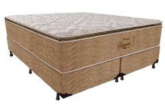 Colchão Probel de Molas Pocket Supreme Látex Natural Pillow Top - Colchão Casal - 1,38x1,88x0,34 - Sem Cama Box
