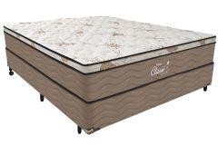 Colchão Probel de Molas Pocket Classic Látex Euro Pillow - Colchão Casal - 1,38x1,88x0,30 - Sem Cama Box