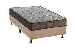 Colchão Probel de Molas Prolastic ProDormir Sucess Sleep Linho Brown - Colchão Probel