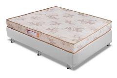 Colchão Paropas de Espuma D33 Pasquale Clean Selado INMETRO - Colchão Solteiro-0,88x1,88x0,18-Sem Cama Box