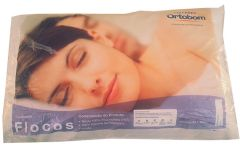 Travesseiro Ortobom Flocos 100% Algodão 50x70cm
