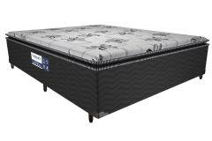 Conjunto Cama + Box Conjugado Probel Espuma D28 ProDormir Acoplado Advanced Pillow Super - Colchão Probel