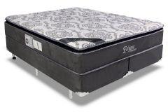 Colchão Luckspuma de Molas Pocket Eclypse Pillow Top - Colchão Solteiro - 0,88x1,88x0,33 Sem Cama Box