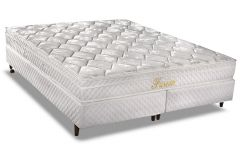 Colchão Herval de Molas Bonnel Fusion Pillow Top - Colchão Solteiro - 0,88x1,88x0,20 - Sem Cama Box