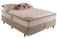Colchão Herval de Molas Pocket Pallace Bambu Plus Euro Pillow - Colchão Herval