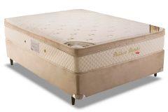 Colchão Herval de Molas Pocket Pallace Bambu Plus Euro Pillow - Colchão Casal - 1,38x1,88x0,32 - Sem Cama Box