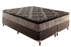 Colchão Paropas de Molas Pocket HR Gel 33 + AG D80  Spetaculum Pillow Top INMETRO - Colchão Solteiro - 0,88x1,88x0,30 - Sem Cama Box