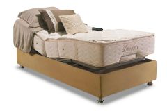 Conjunto Cama Box - Colchão Herval de Molas Pocket Ajustable Com Massagem  MH 1430 + Cama Box Regulável -