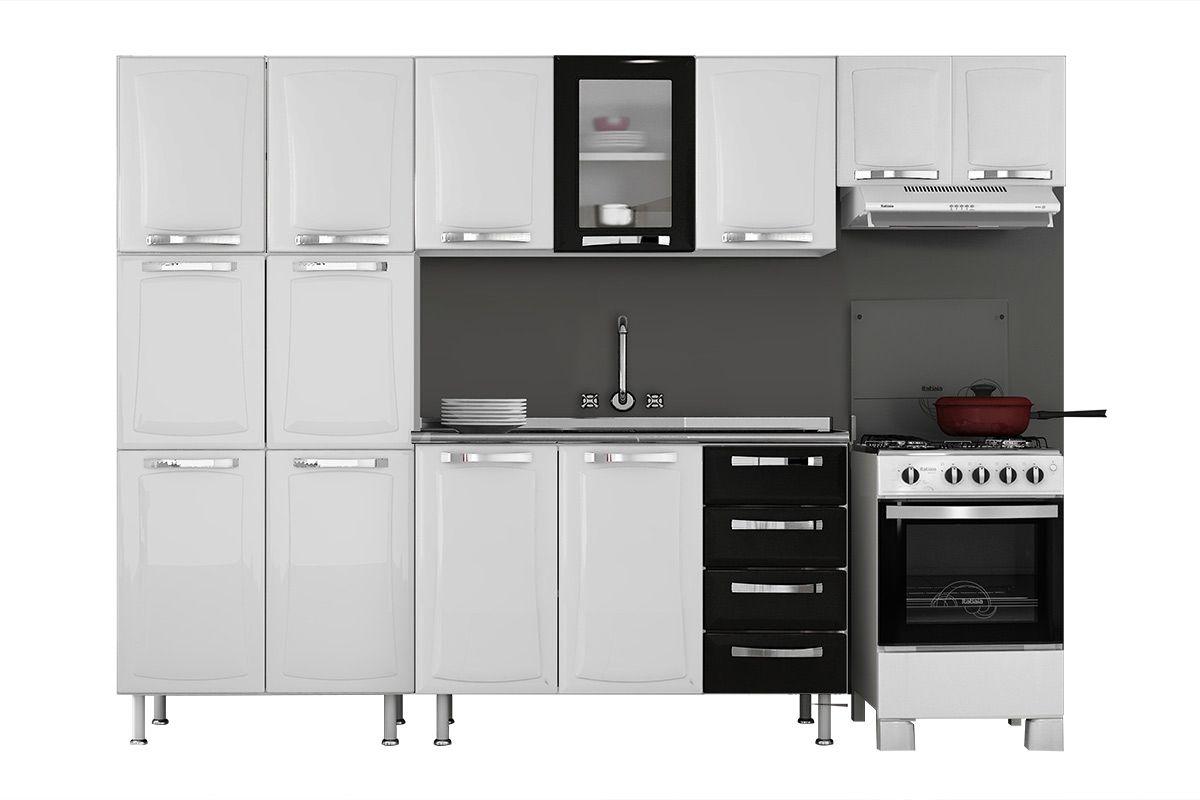 Cozinha Completa Itatiaia Itanew De A O C 4 Pe As Cz16 Na Costa