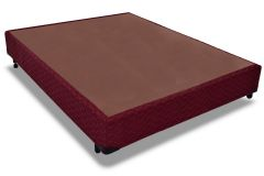 Cama Box Base Probel Tecido Bordô -