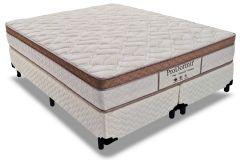Colchão Probel de Molas Prolastic ProDormir Naturalle Premium Euro Pillow - Colchão Solteiro - 0,88x1,88x0,30 - Sem Cama Box