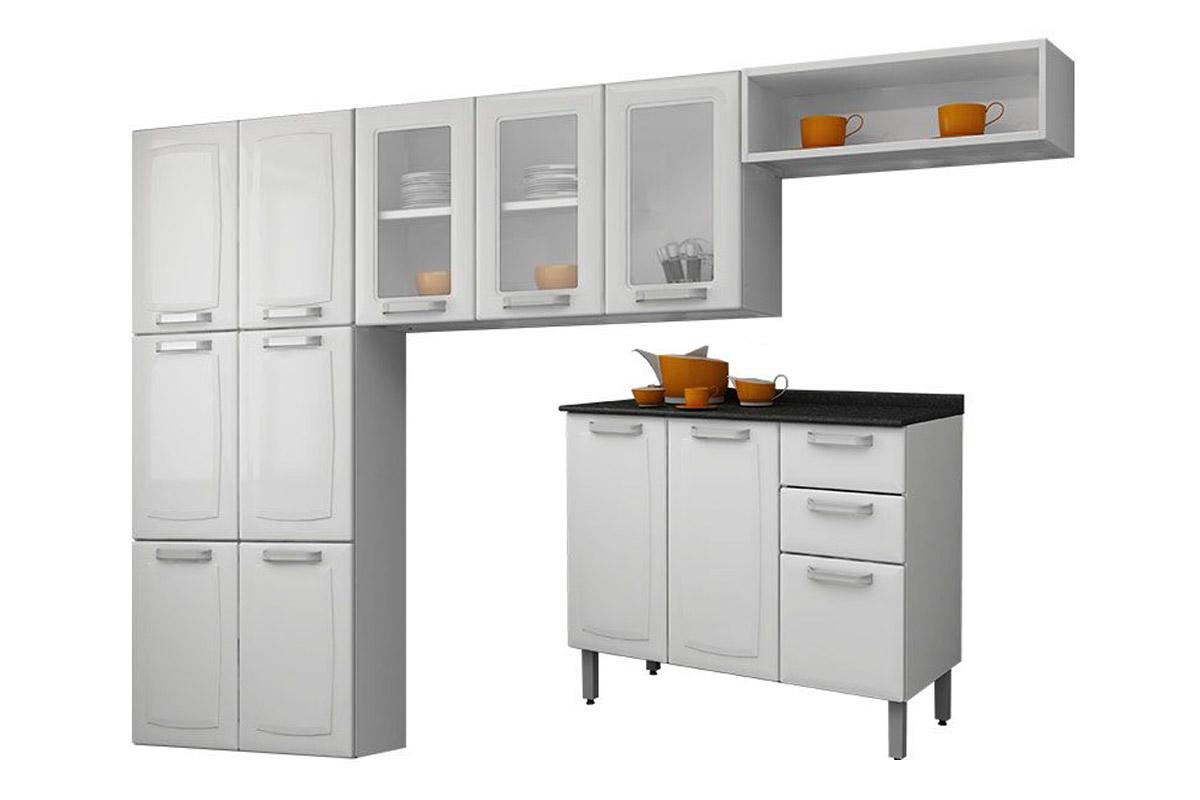 Características do Cozinha Compacta Itatiaia Luce Aço COZ 3V C IG3G2 #B3650A 1200 800