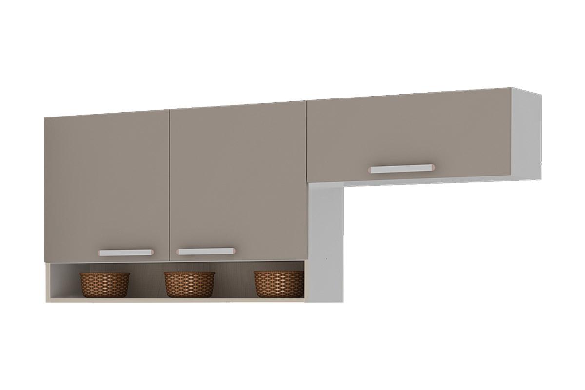 120/IPH 70 Madeira c/ 2 Portas 120cm Nicho e 1 Porta Basculhante 70cm #624B38 1200x800