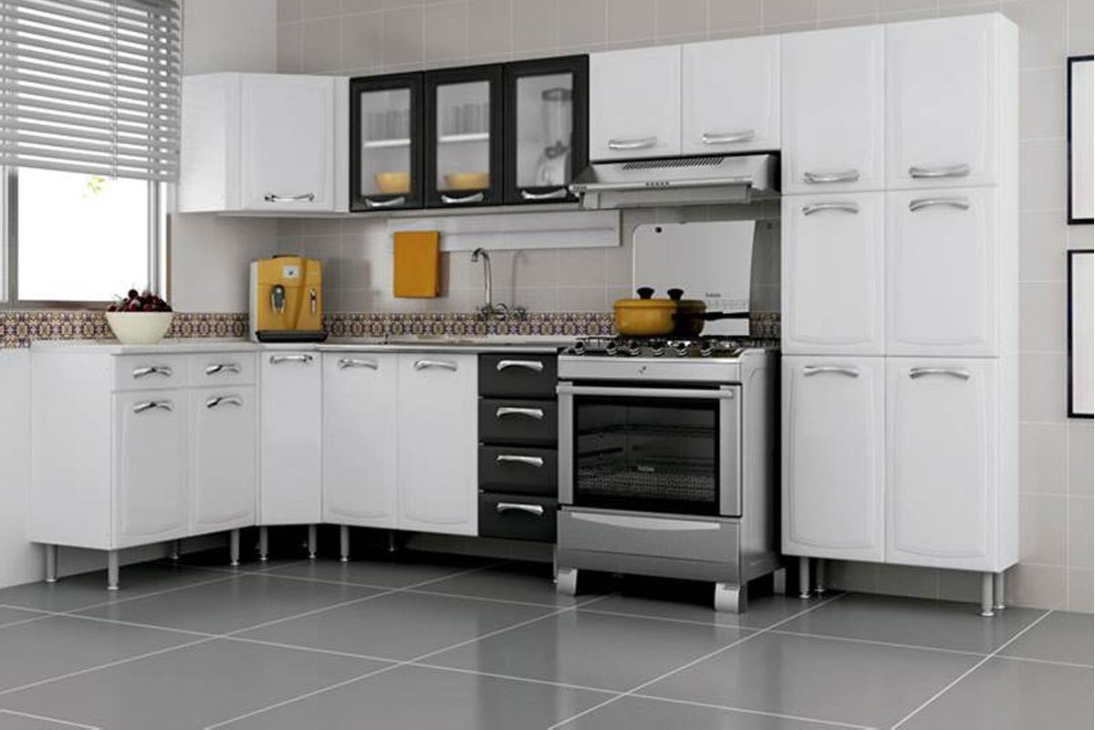 Cozinha Completa Itatiaia Premium De A O C 7 Pe As Cz23 Na Costa