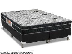 Colchão Orthoflex Ortopédico Foggia Sogni Pillow Top Black INMETRO - Colchão Solteiro - 0,88x1,88x0,26 - Sem Cama Box