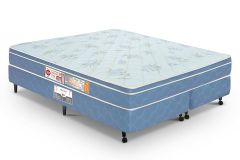 Colchão Castor de Espuma D45 Sleep Max Duplo 25cm Selado INMETRO e INER - Colchão Solteiro - 0,88x1,88x0,25 - Sem Cama Box