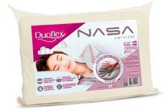 Travesseiro Duoflex Nasa Cervical Anatômico Viscoelástico NN2100 P/ Fronha 50x70cm - Travesseiro Duoflex