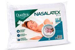 Travesseiro Duoflex NasaLatéx Alto Viscoelástico NL1100 c/ Capa de Algodão P/Fronha 50x70 (16cm) - Travesseiro Duoflex