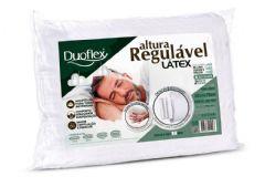 Travesseiro Duoflex Látex 4 Alturas Regulável p/ Fronha 50x70 - Travesseiro Duoflex