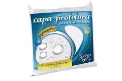 Capa Duoflex p/ Travesseiro de Corpo Inteiro Percal 200 fios e Lavável c/ Zíper - Travesseiro Duoflex