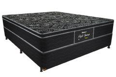 Colchão Probel de Molas Pocket Perfil Springs Black Pillow Top - Colchão Solteiro - 0,88x1,88x0,28 - Sem Cama Box