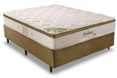 Colchão Herval de Molas Pocket Meditare Pillow Top One side - Colchão Casal - 1,38x1,88x0,29 - Sem Cama Box