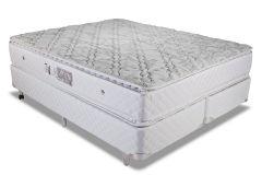 Colchão Luckspuma de Molas Pocket Satisfaction Plus White Pillow Top Duplo - Colchão Luckspuma