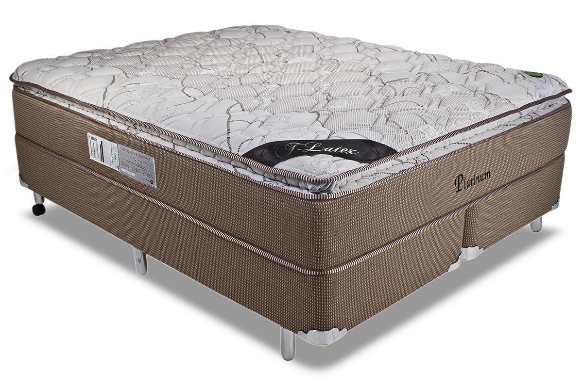 Colchão Luckspuma de Molas Pocket  Platinum New  Pillow Top One Side - Colchão Luckspuma