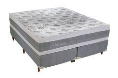 Colchão Polar de Molas Pocket Serenatta Euro Pillow - Colchão Solteiro - 0,88x1,88x0,30 - Sem Cama Box