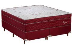 Colchão Polar de Molas Pocket Ensacadas Rubi Fort Wine Euro Pillow - Colchão Solteiro - 0,88x1,88x0,30 - Sem Cama Box